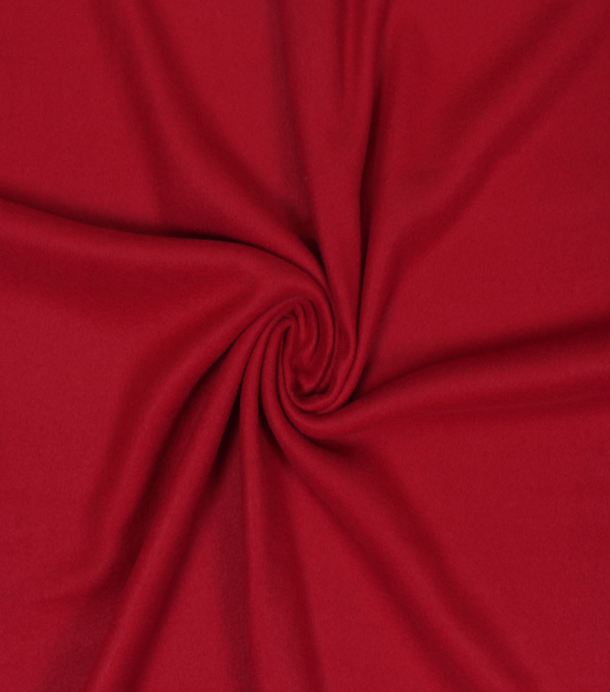 Blizzard Fleece Fabric -Solids, Rio Red