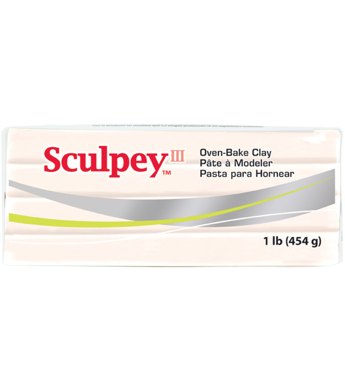 Sculpey III One Pound Packages, Beige