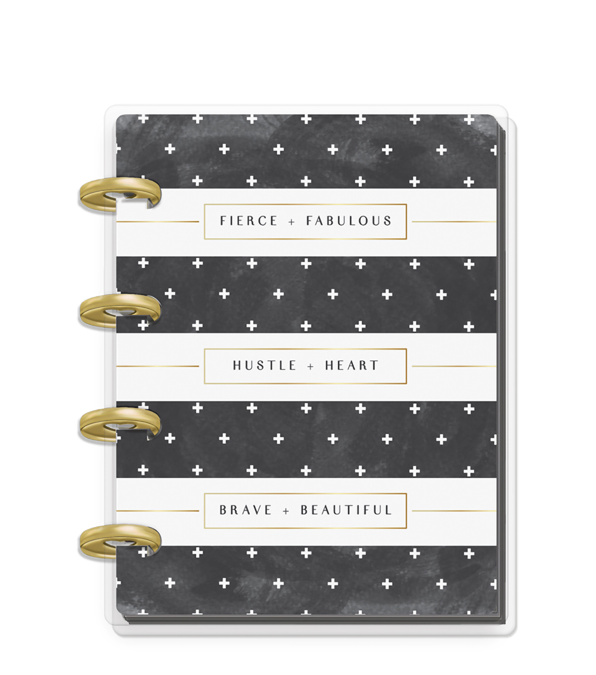 The Happy Planner x Rongrong Micro Happy Notes-Black &White