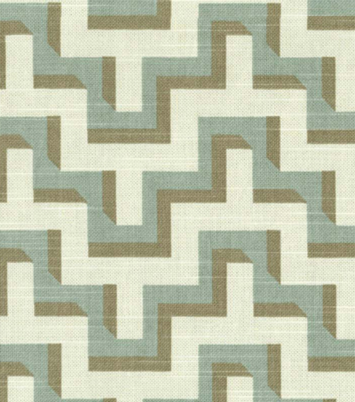Home Decor 8''x 8''Swatch Print Fabric- HGTV HOME Jigsaw