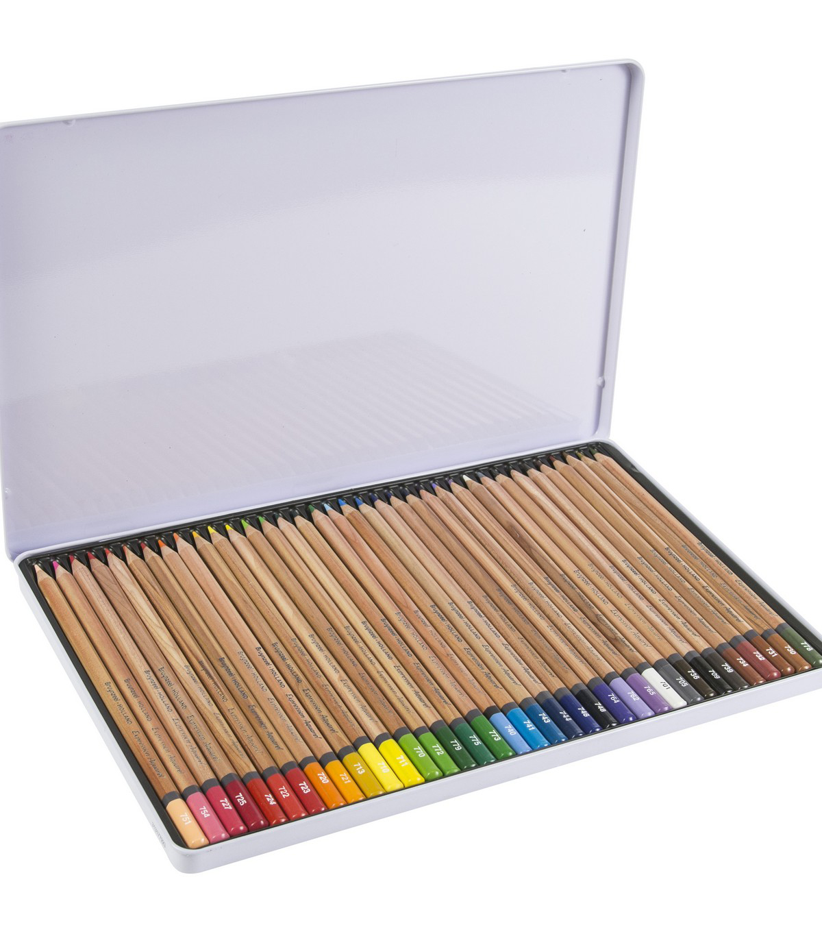 Bruynzeel 36 pk Expression Aquarel Watercolour Pencils with Tin