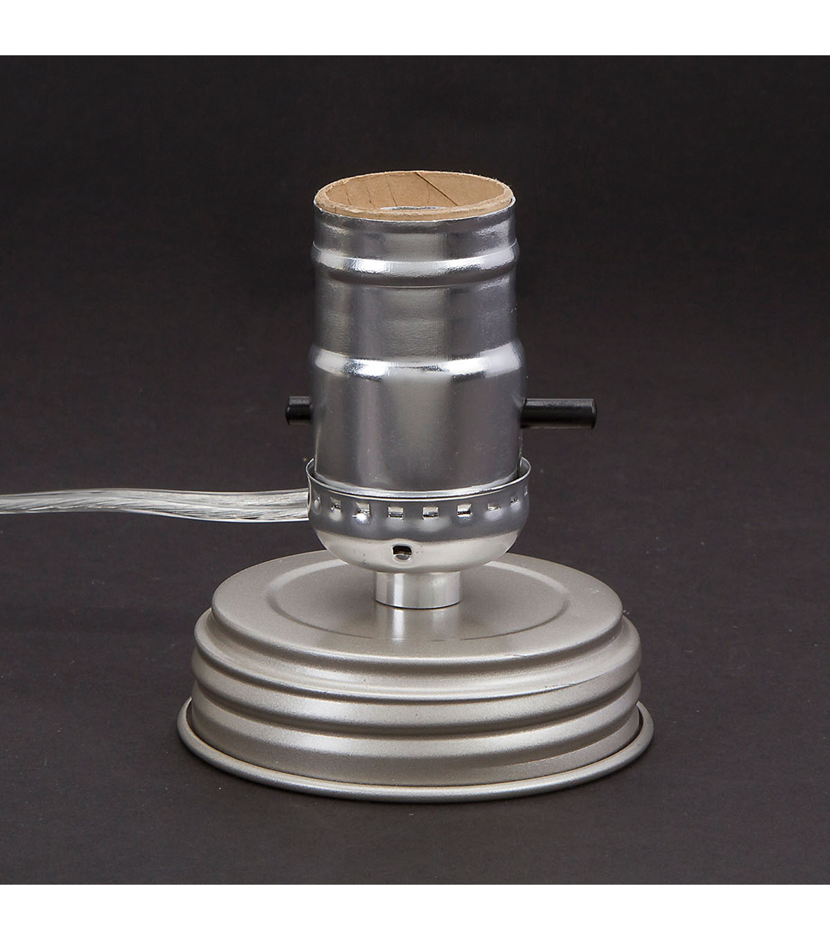 Darice Cleveland Vintage Lighting 7.5\u0027 Canning Jar Lamp Adapter