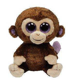 TY Beanie Boo Coconut Monkey  a064ac1a9d9a