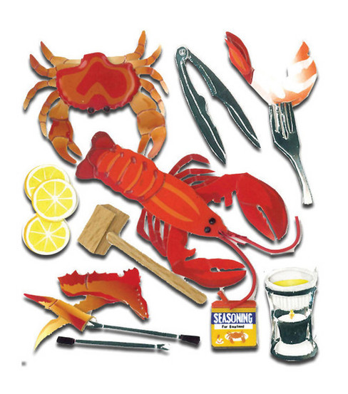 Jolee\u0027s Boutique Dimensional Sticker-Crustacean