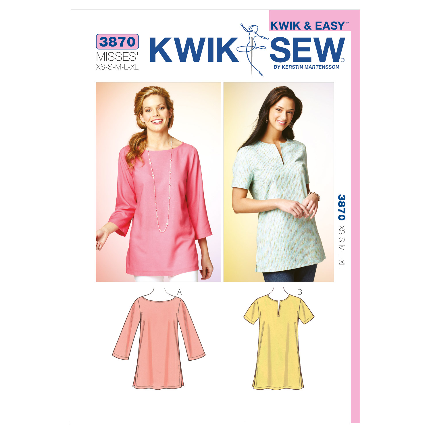 Kwik Sew Misses Top-K3870