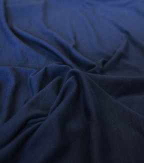 Knit Rayon Spandex Fabric -Navy