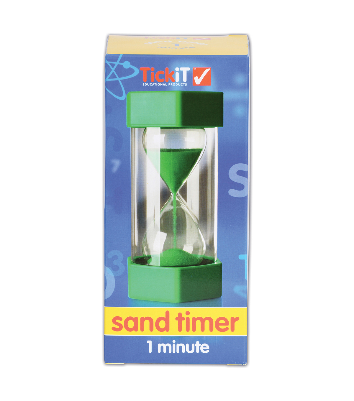 TickiT Sand Timer, 1 Minute, Green