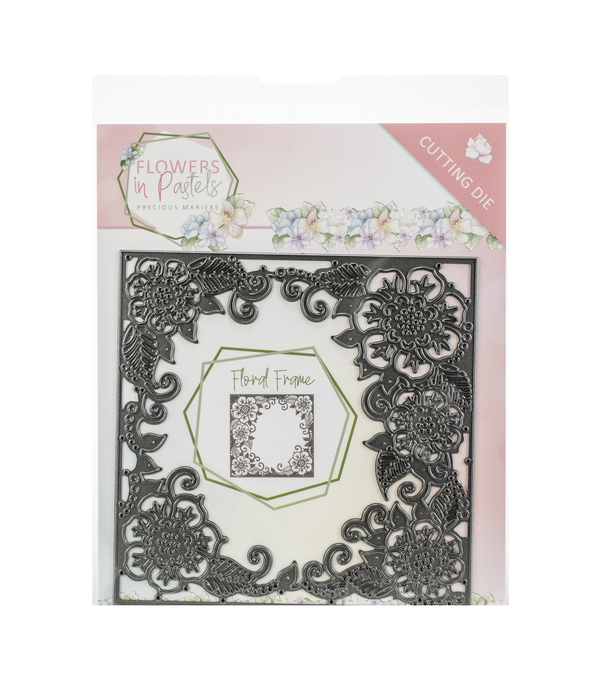 Find It Trading Precious Marieke Flowers In Pastels Die-Floral Frame