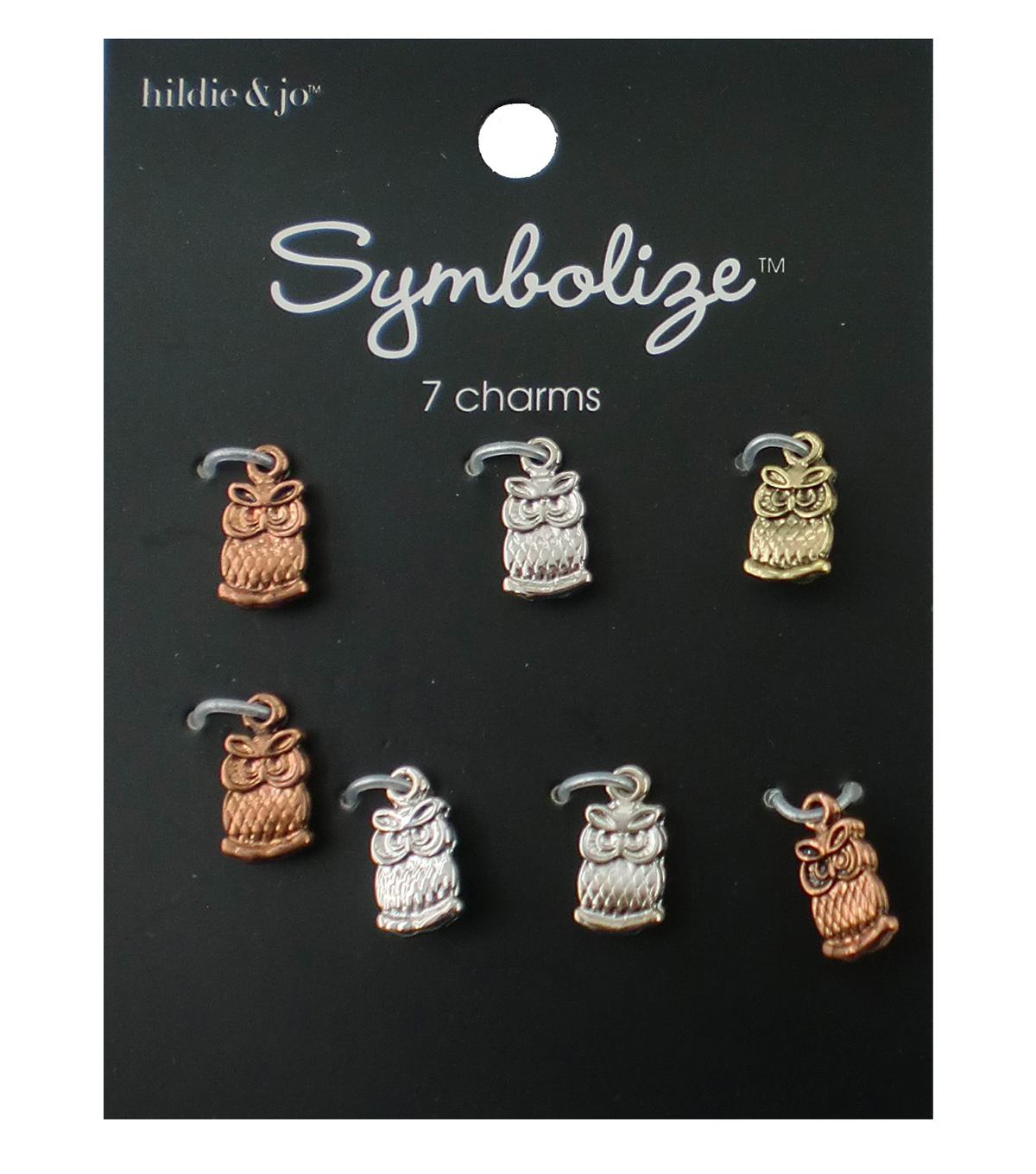 hildie & jo Symbolize 7 Pack Owl Charms