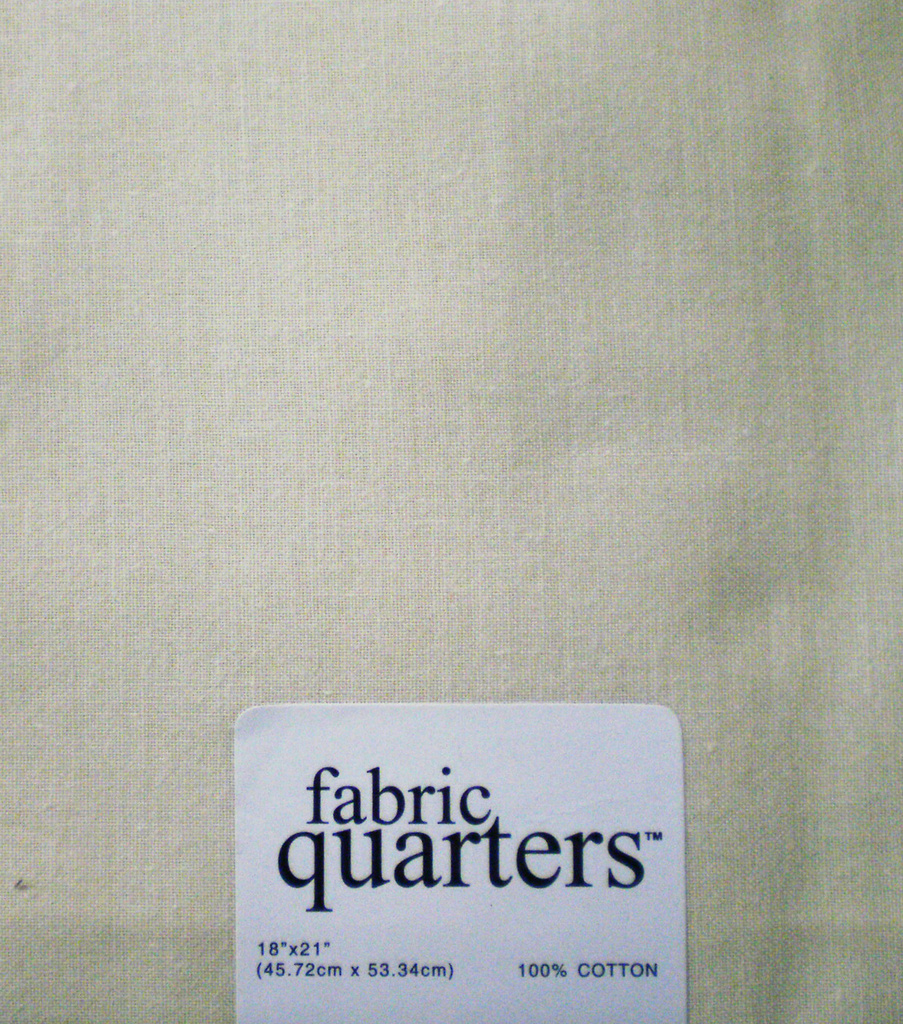 Fabric-Quarters Cotton Fabric-Solids Cream