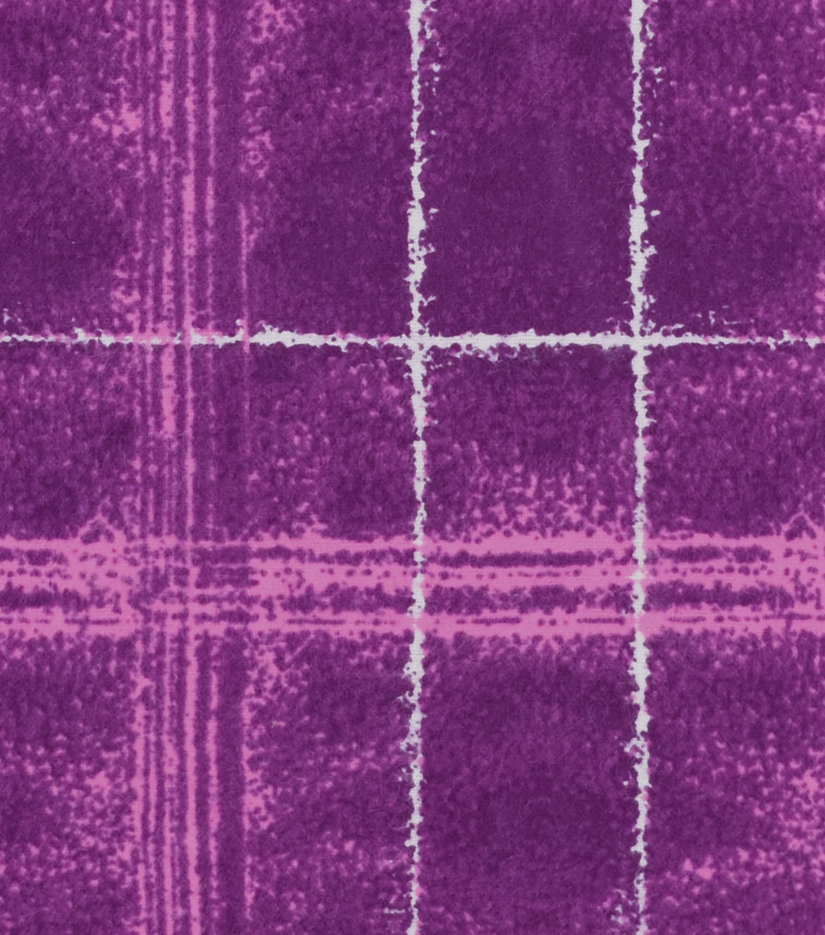 Snuggle Flannel Fabric -Jade Pink Plaid