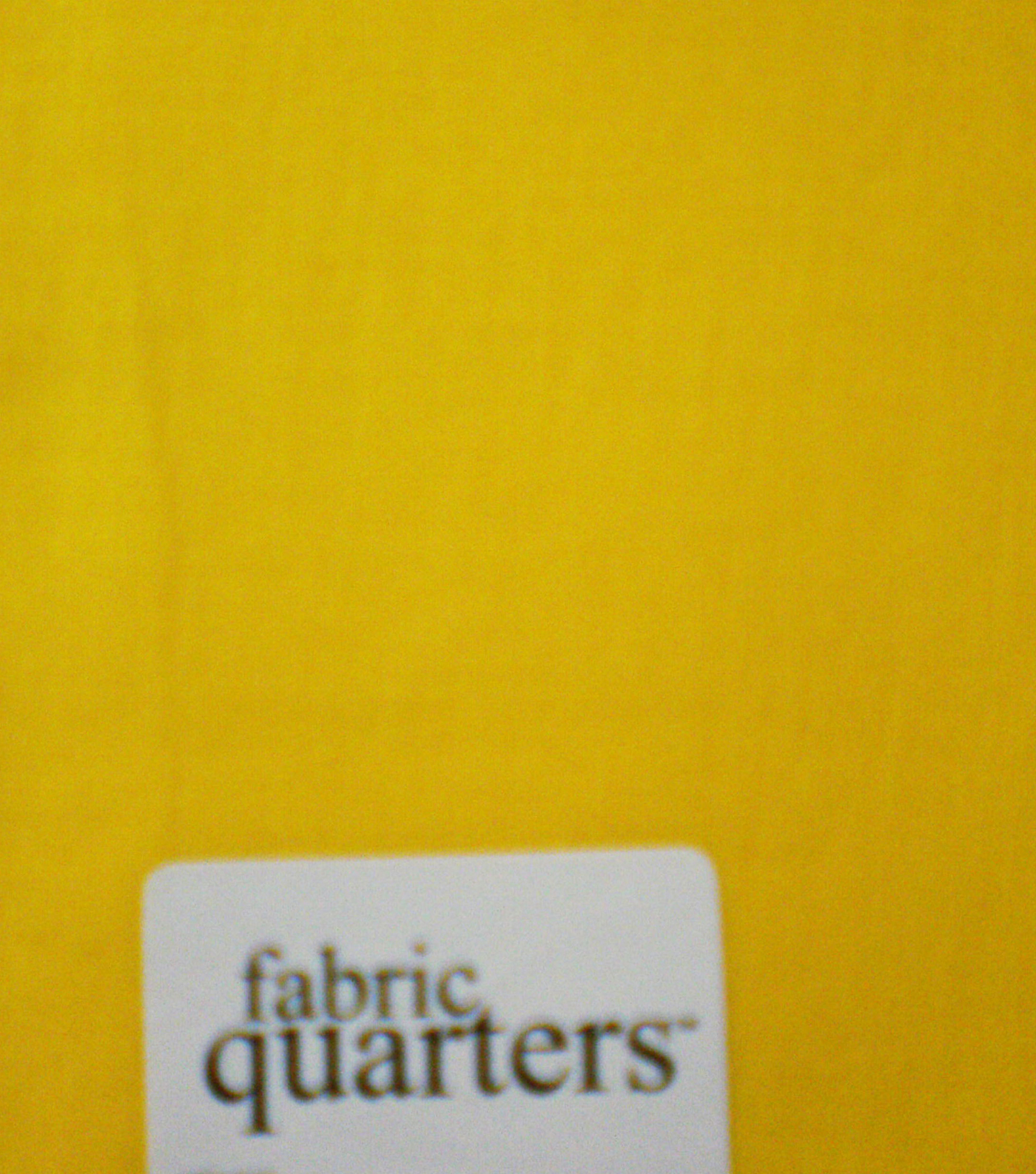Fabric-Quarters Cotton Fabric-Solids Yellow