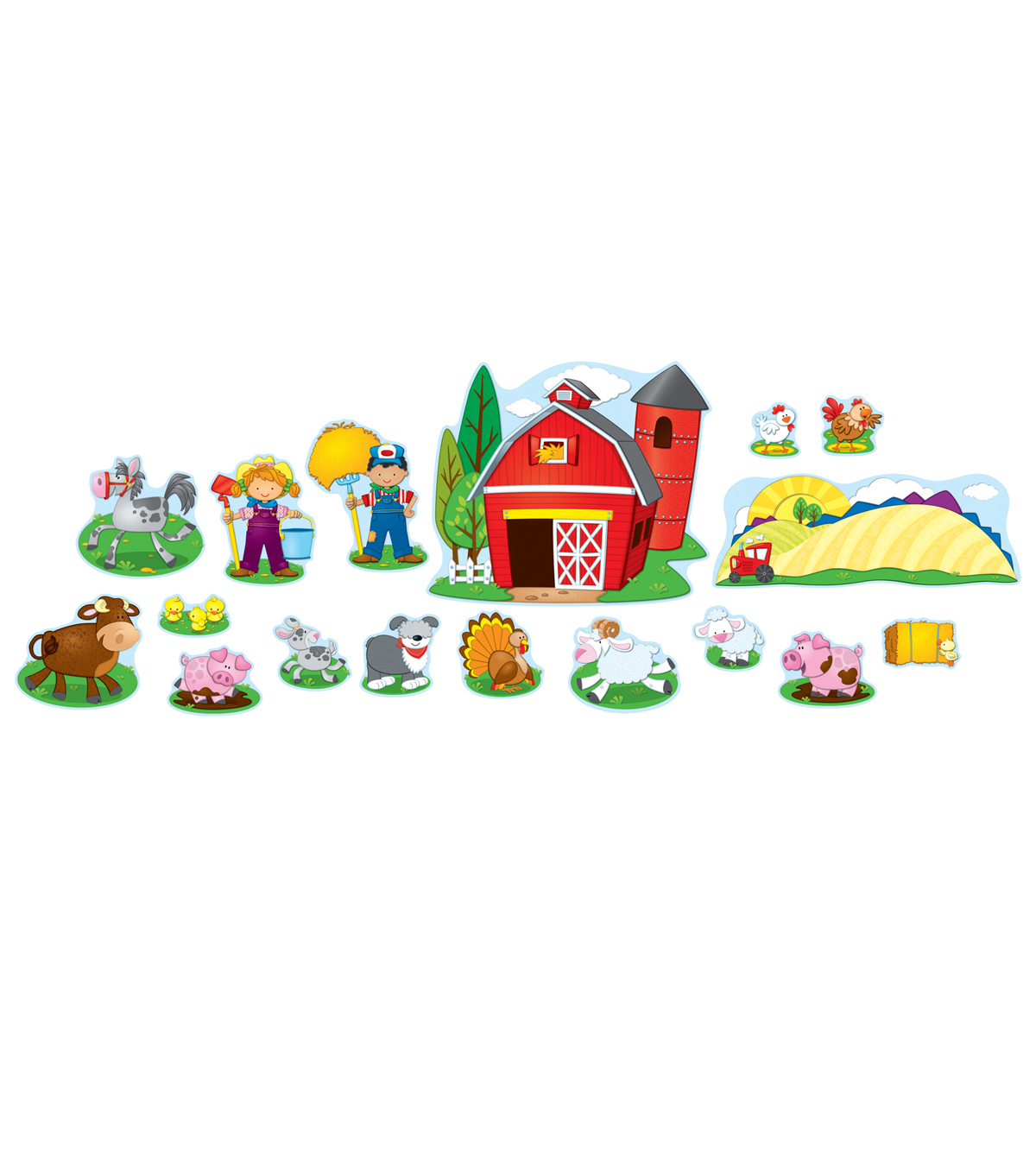 Farm Bulletin Board Set