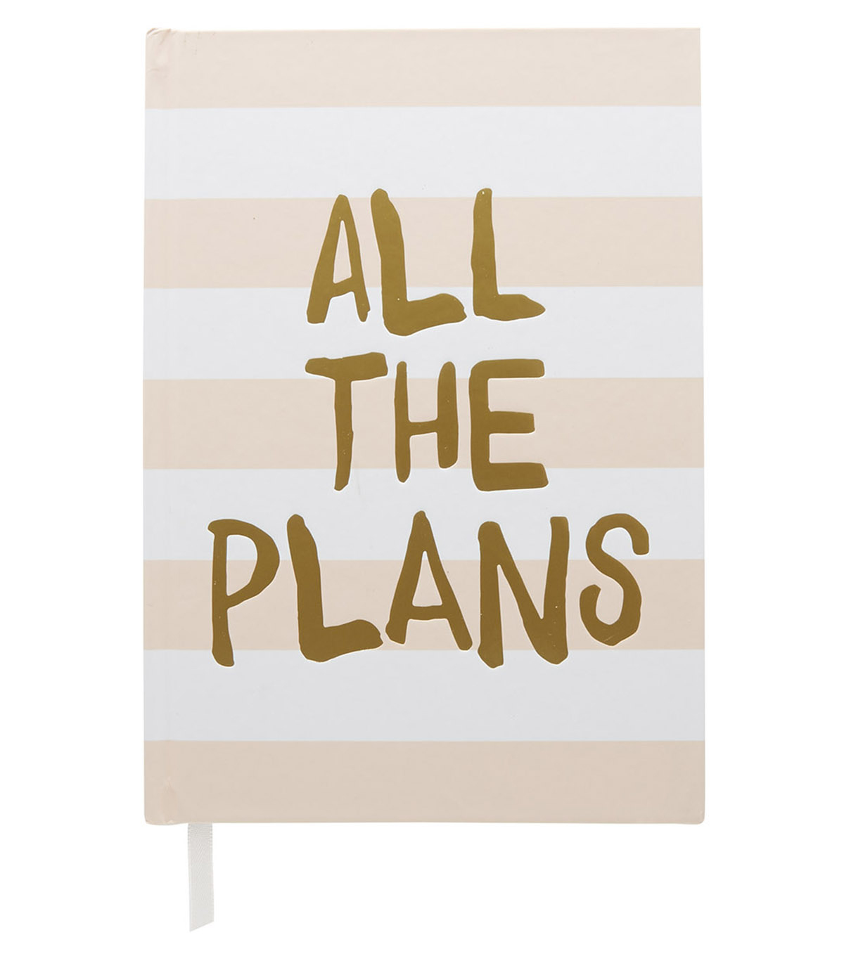 The Happy Planner 6.25\u0027\u0027x8\u0027\u0027 Journal-All the Plans on Stripes