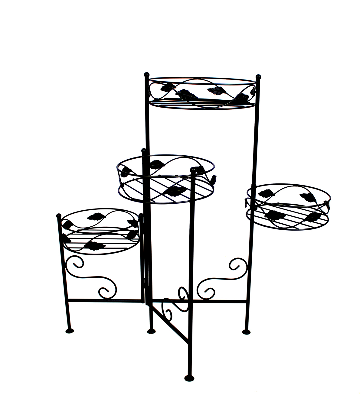 In the Garden 4-tier Foldable Plant Stand