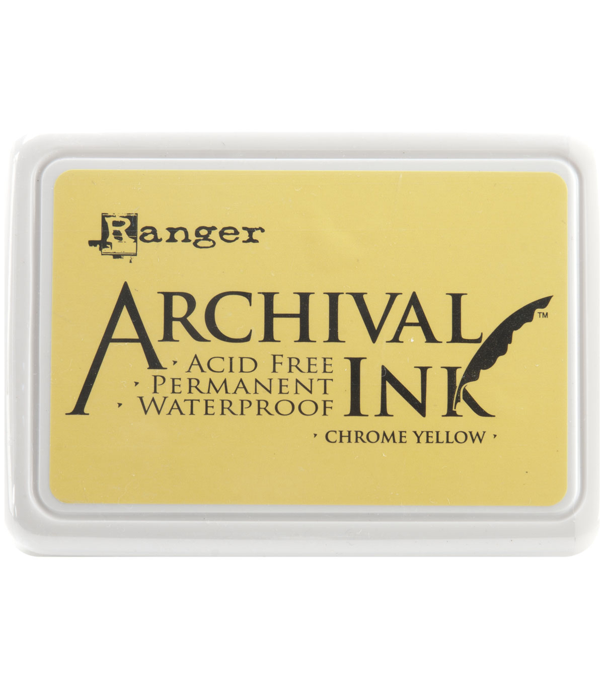 Archival Inkpad, Chrome Yellow