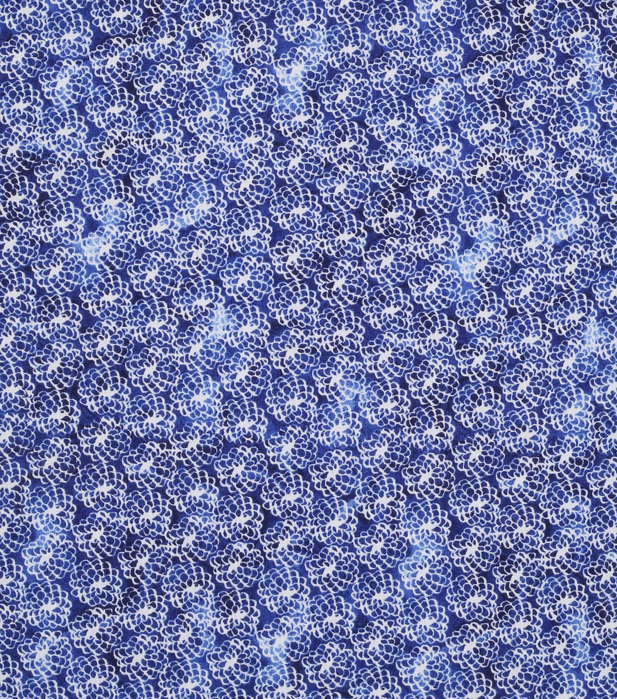 Keepsake Calico Cotton Fabric 43\u0022-Mum Navy Tonal