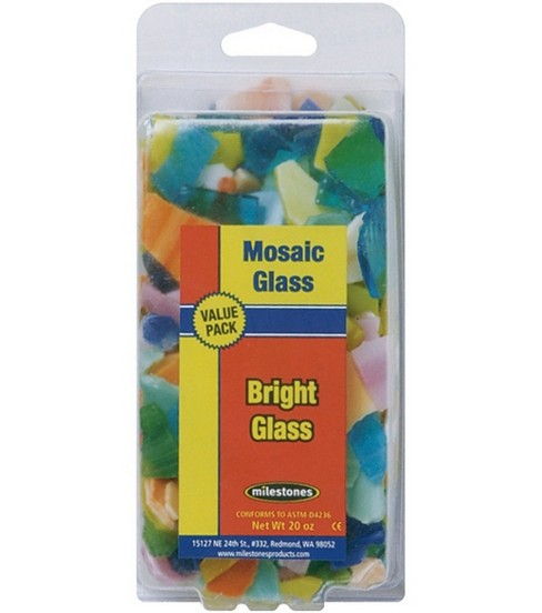 Mosaic Glass Value Pk-Bright Colors