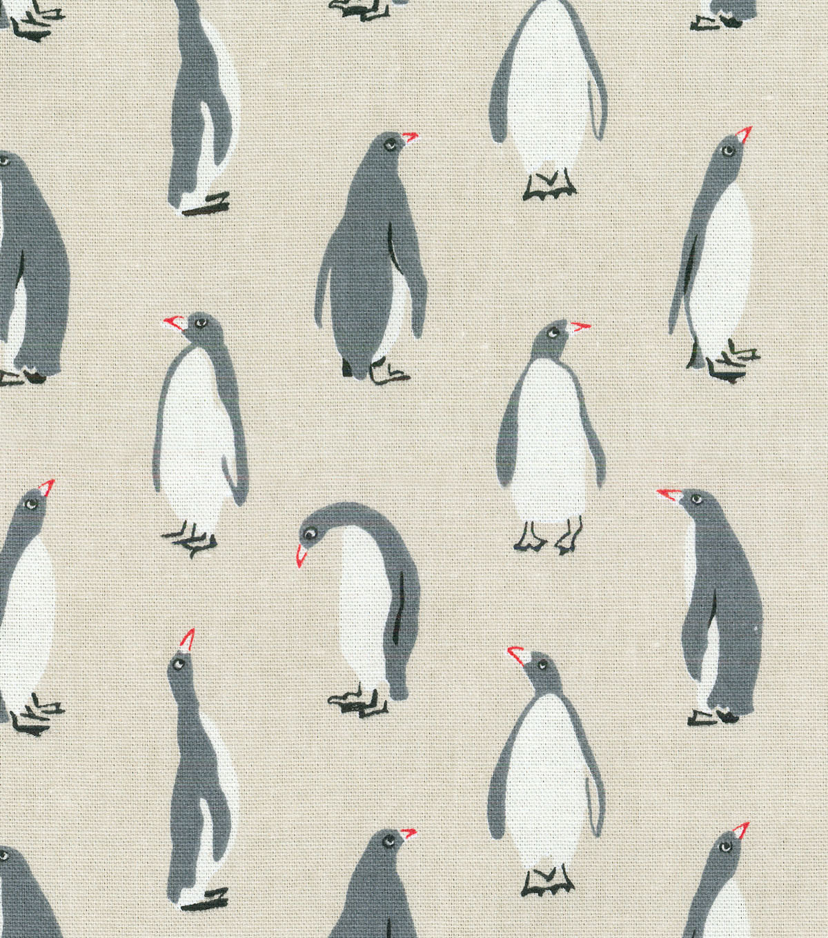 Home Essentials Decor Fabric-Black Tie Natural