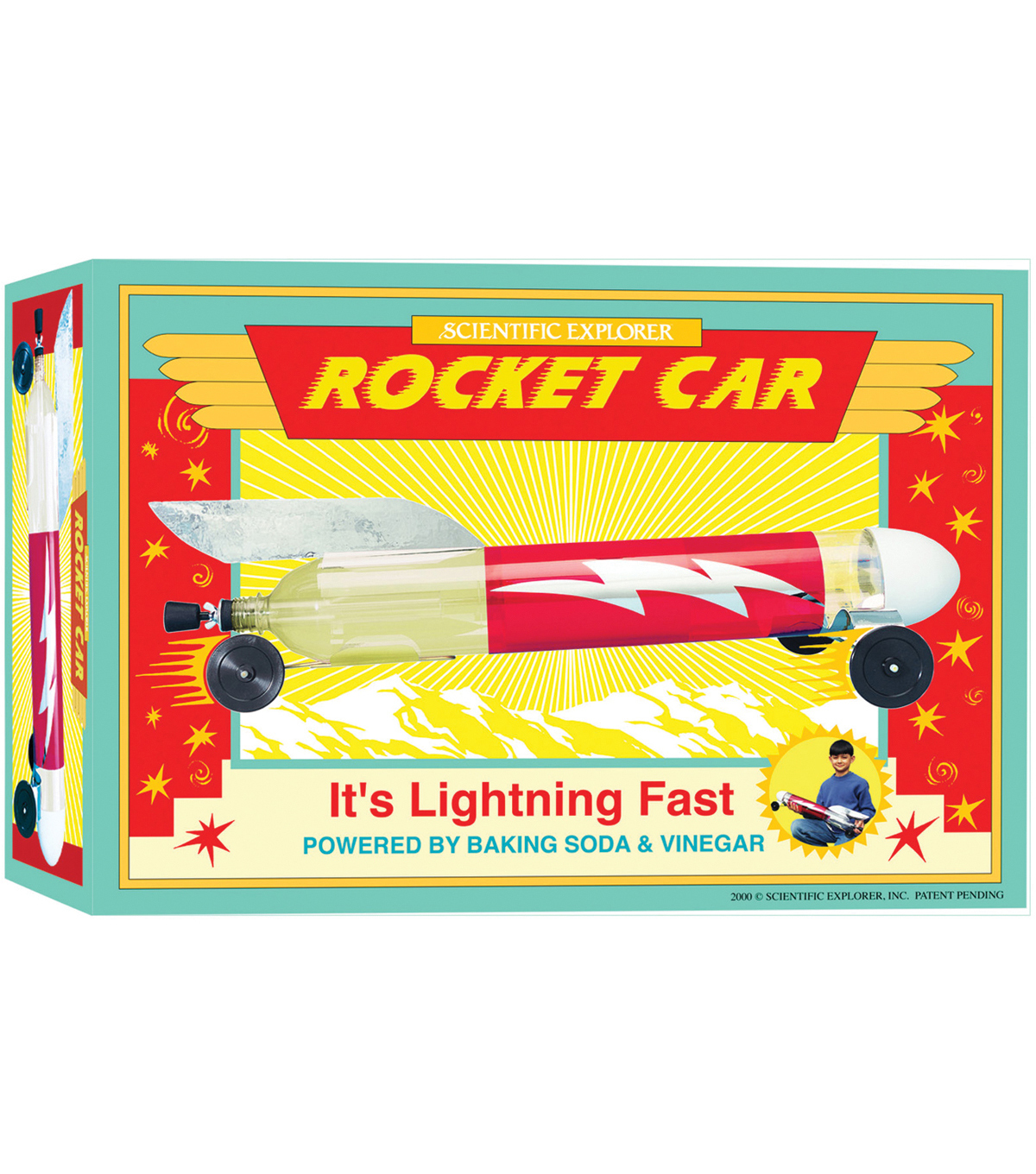 Elmer\u0027s Products Scientific Explorers Rocket Car Kit