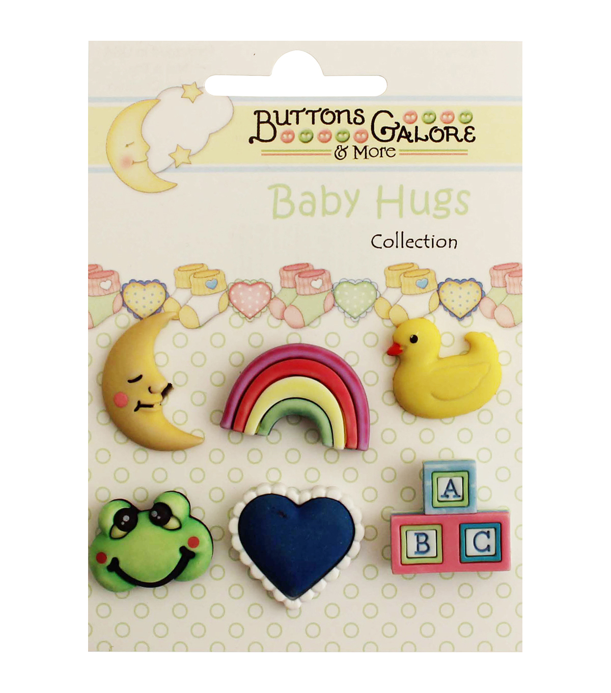 Buttons Galore Baby Hugs Nursery Time Buttons