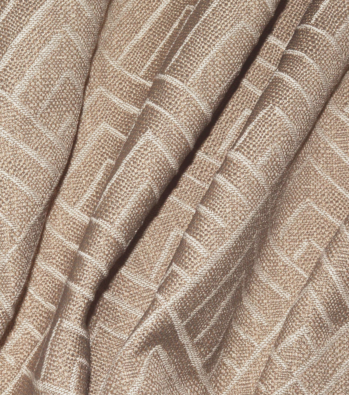 P/K Lifestyles Upholstery Fabric 13x13\u0022 Swatch-Tipping Point Cappuccino