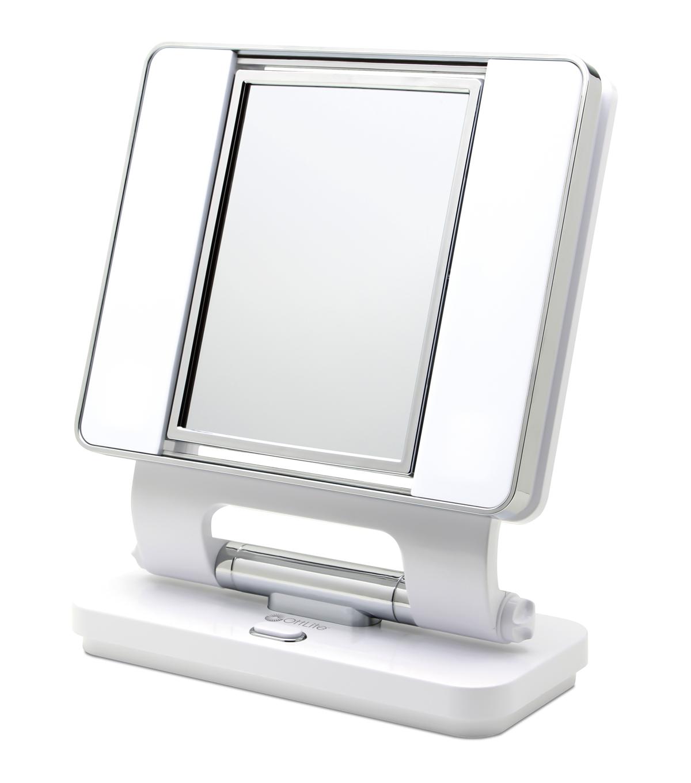 Ottlite 26w Dual Sided Makeup Mirror White