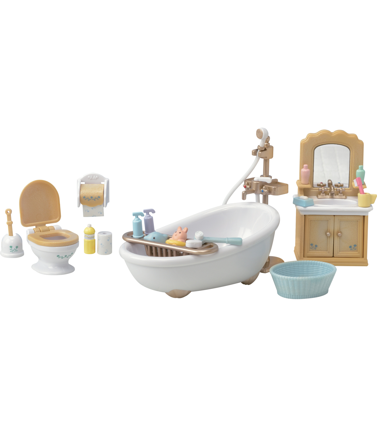 Calico Critters Country Bathrooom Set