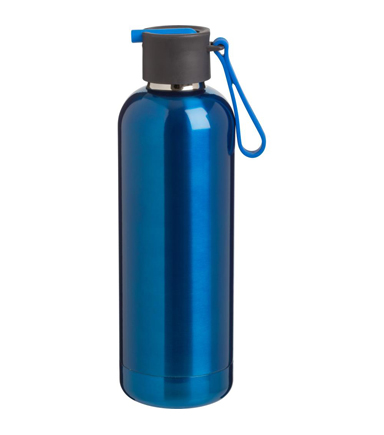 Stainless Steel Brisk Vacuum Bottle, Cobalt Blue