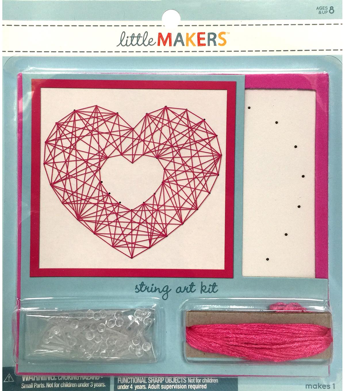 Little Makers String Art Kit Heart Joann