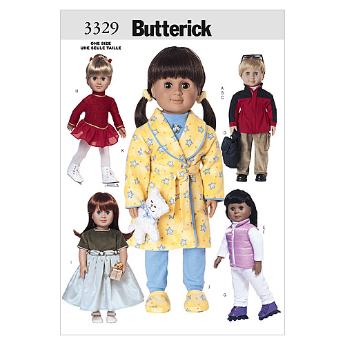 Mccall Pattern B3329 One Size O-Butterick Pattern
