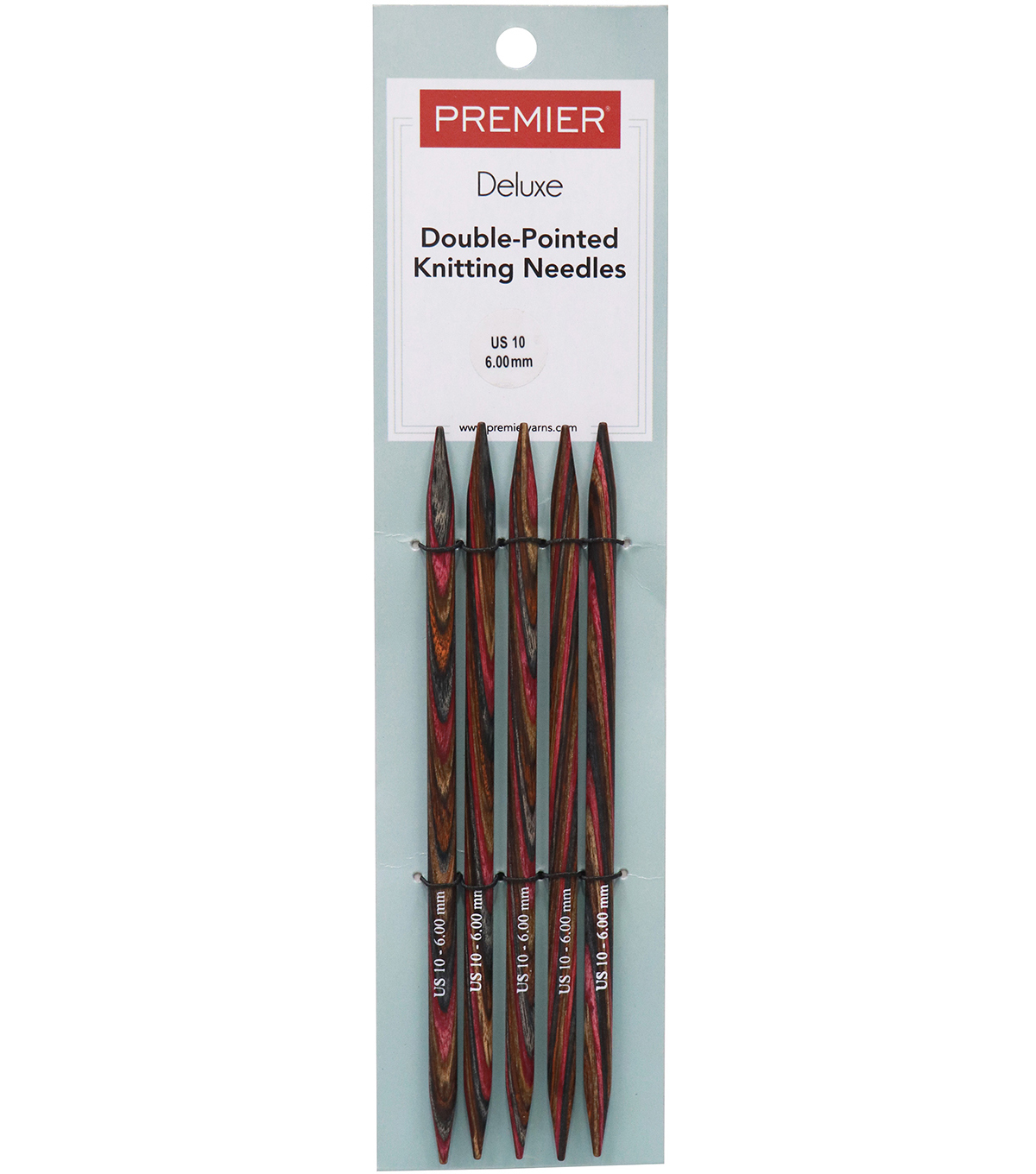 Premier Yarns Double Pointed Needles 6\u0022-Size 10/6mm