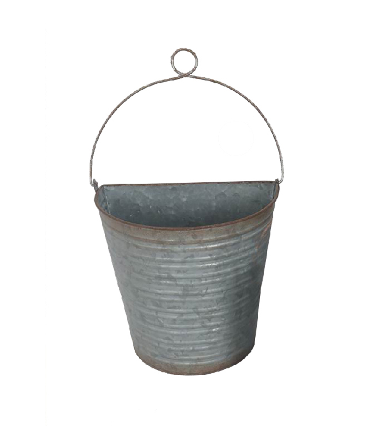Bloom Room Large Metal Wall Bucket with Wire Hanger | JOANN