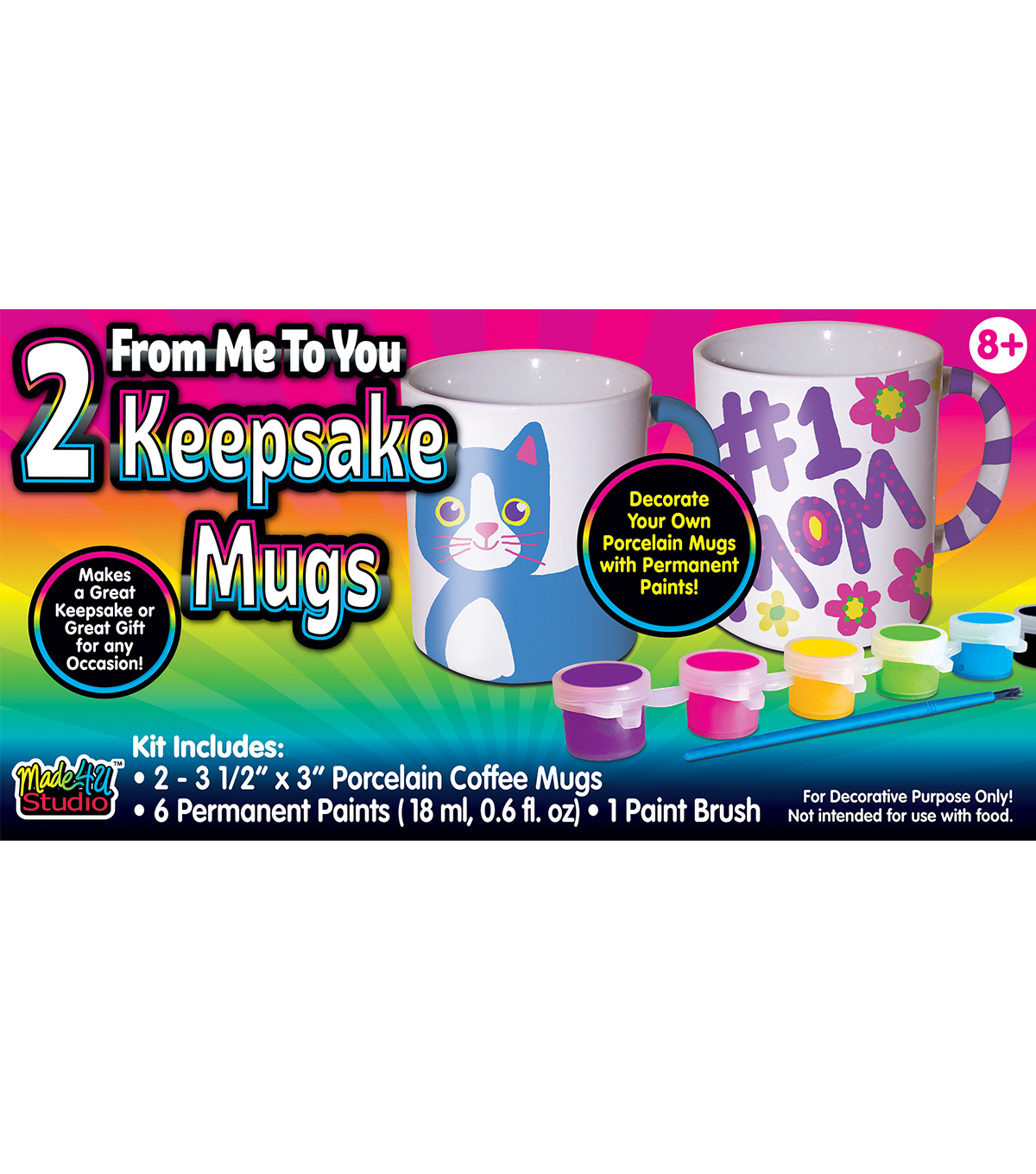 Made 4 U Studio-From Me To You Keepsake Mugs
