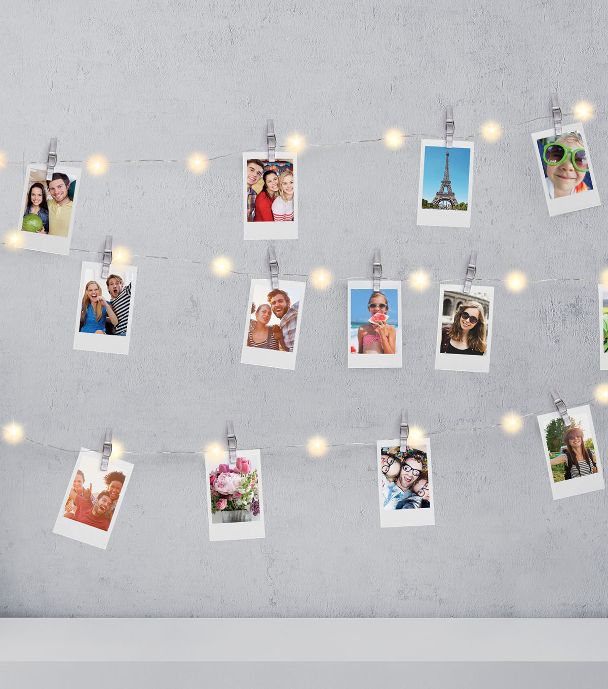 Firefly Photo Clip String Lights 15\u0027