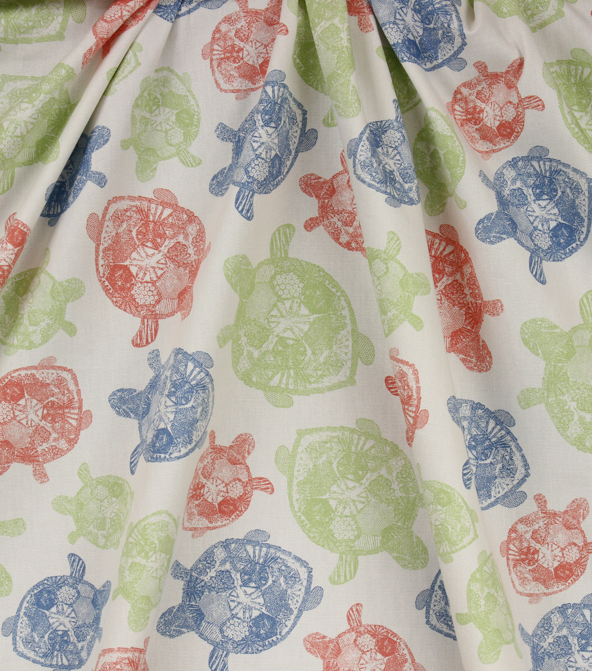 Home Essentials Lightweight Decor Fabric 45\u0027\u0027-Multi Turtles