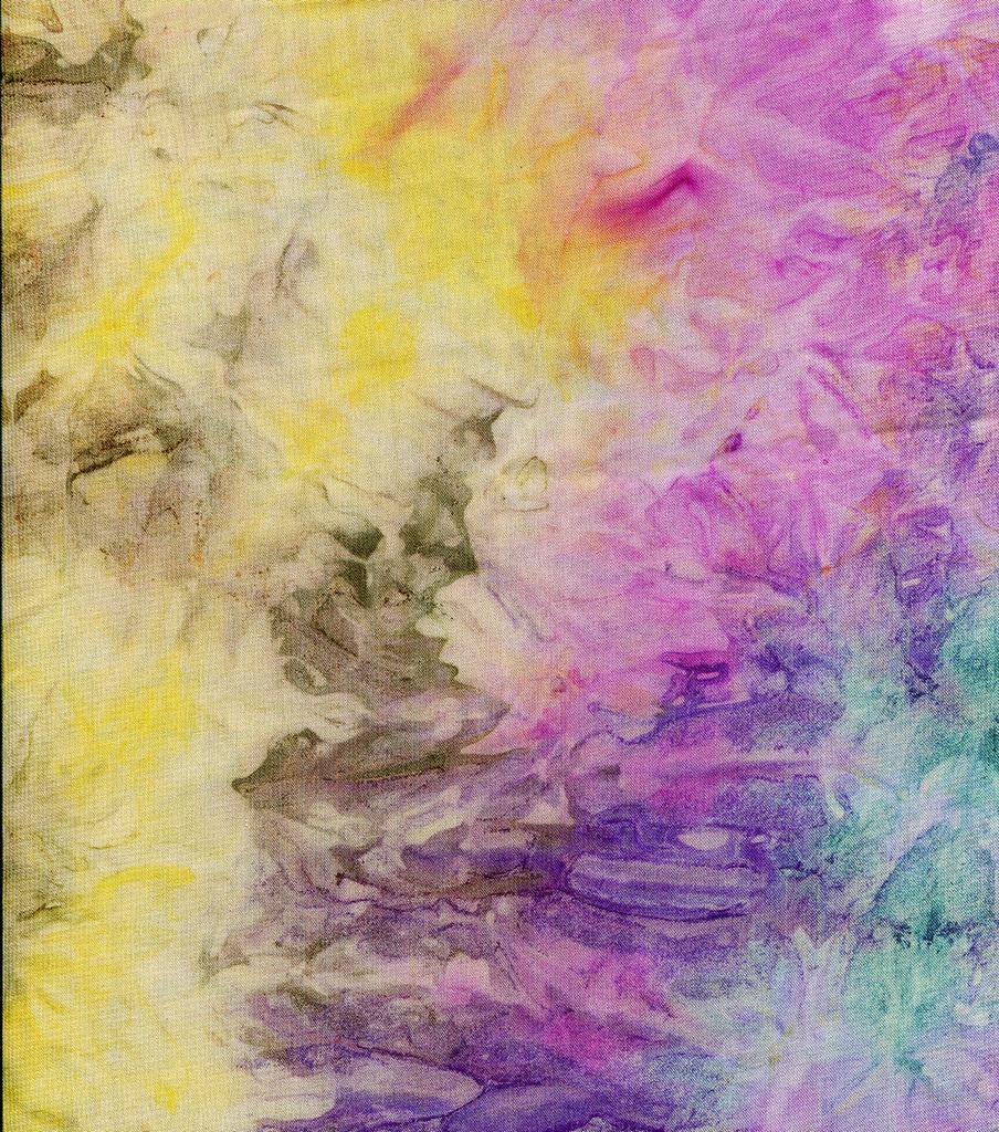 Silky Prints Georgette Fabric 57\'\'-Multi Tie Dye
