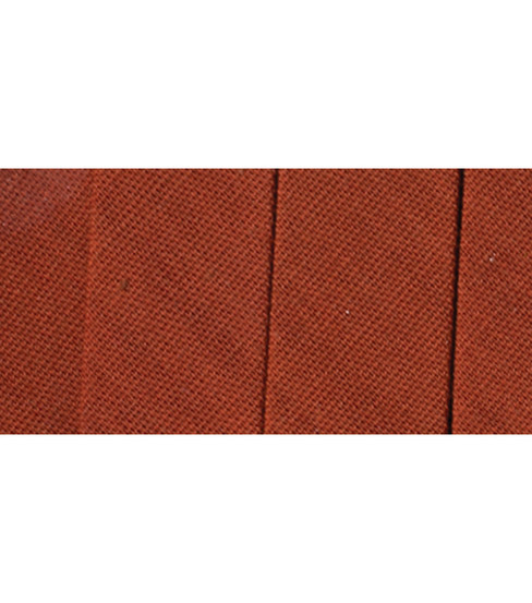 """Wrights Bias Tape Extra Wide Double Fold PC206 3 Yards .5/"""" Wide Bark"""