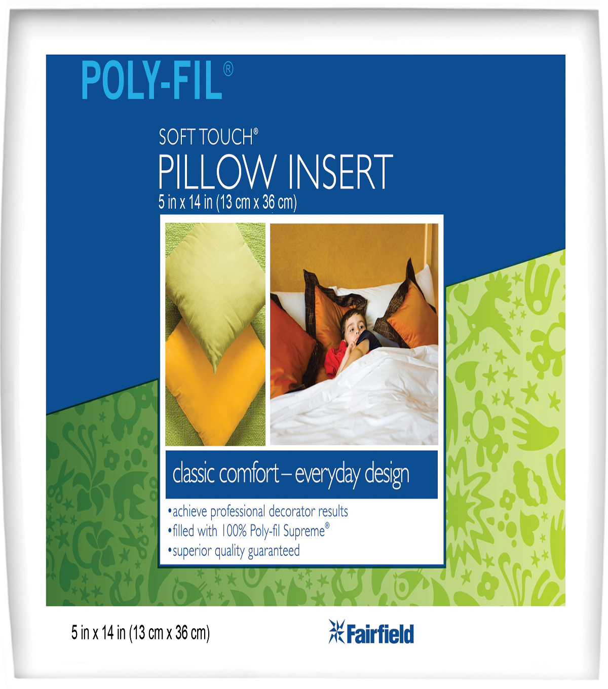 Soft Touch Neck Roll Pillow 5\u0022 x 14\u0022