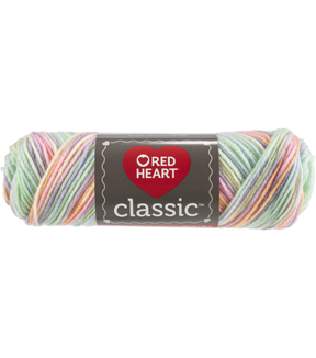 Red Heart 12 pk Classic Yarns-Tropical Fruit