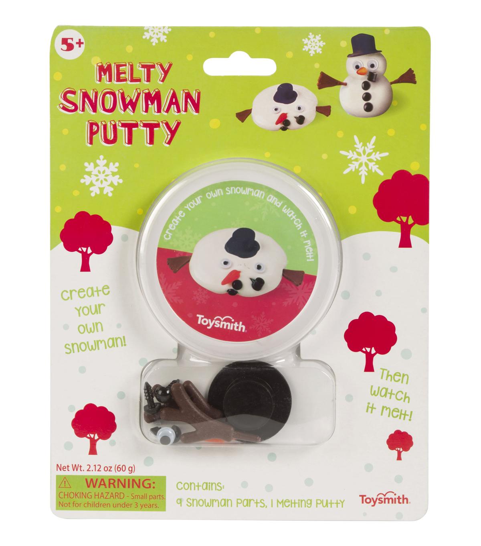 Toysmith Christmas Melty Snowman Putty Kit Joann