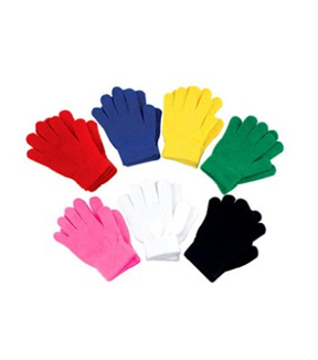 Stretch Gloves-Bright Rose