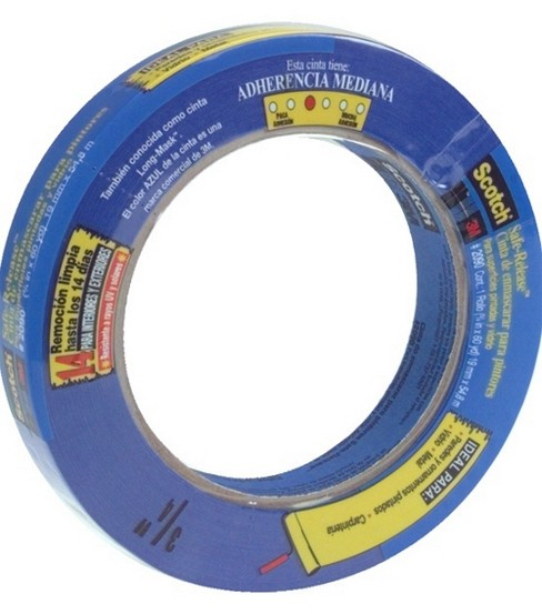 ScotchBlue Safe-Release Painter\u0027s Tape 0.75\u0027\u0027x60 yds-Blue