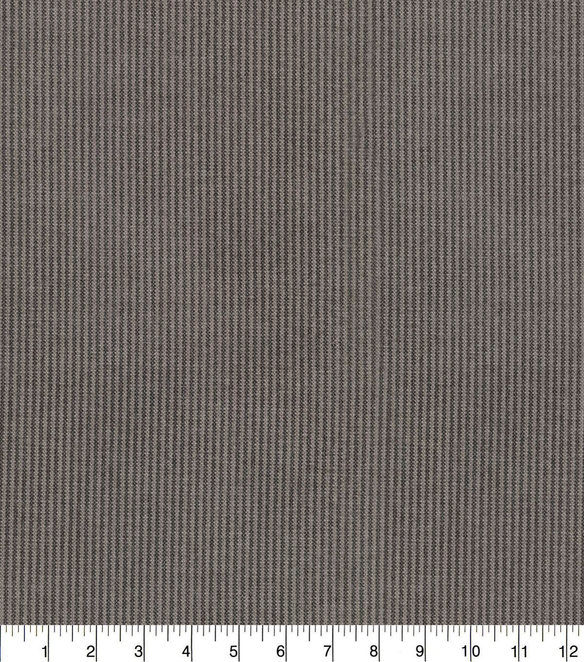PKL Studio Upholstery Décor Fabric 9\u0022x9\u0022 Swatch-Slim Fit Charcoal