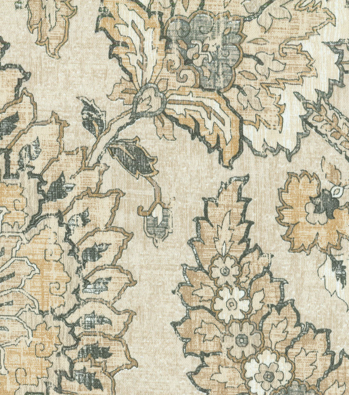 Waverly Upholstery Fabric 54\u0022-Castleford Sterling