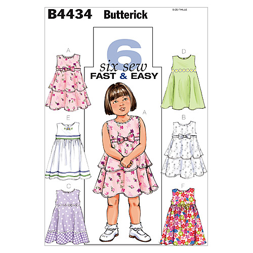 Butterick Children\u0027s Dress-B4434