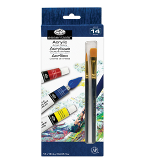Royal Langnickel 12pk Acrylic Paint 12ml Set