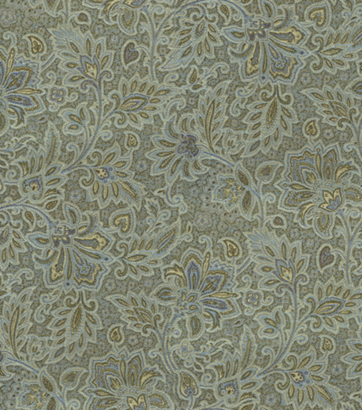Home Decor 8\u0022x8\u0022 Fabric Swatch-Upholstery-Waverly Parlour Paisley/Blue Jay