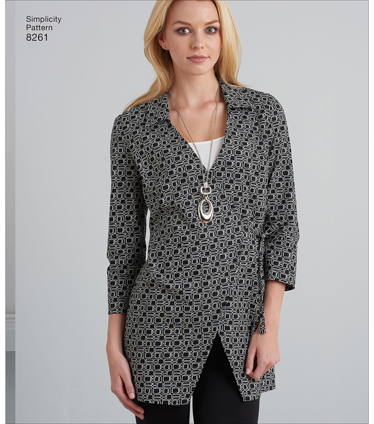 Simplicity Pattern 8261 Misses\u0027 Tunic & Knit Leggings-Size R5 (14-22)