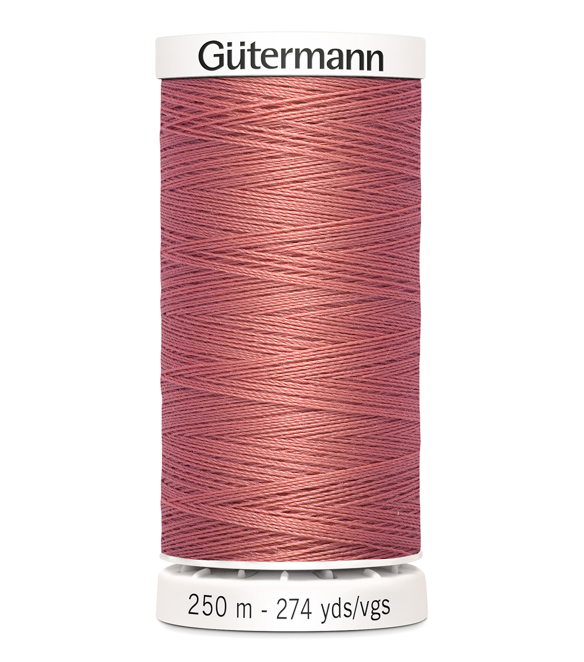 Gutermann Sew-All Thread 273 Yds-(300 & 900 series) Cool Tones , Coral Rose #352